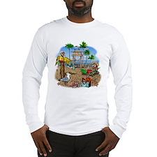 Parrot Beach Party Long Sleeve T-Shirt