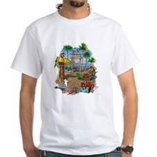 Parrot Beach Party Shirt