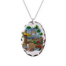 Parrot Beach Shack Necklace