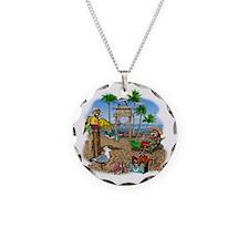 Parrot Beach Shack Necklace