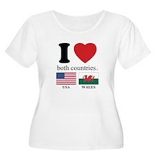 USA-WALES T-Shirt