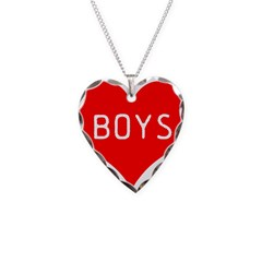 I Love Boys Necklace