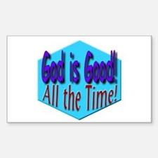 God is Good! Rectangle Decal