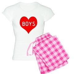 I Love Boys Pajamas