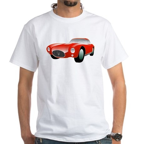 Maserati White T-Shirt