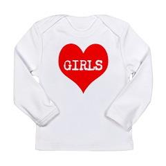 iLove Girls! Long Sleeve Infant T-Shirt