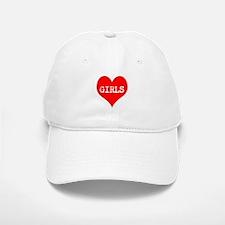 iLove Girls! Baseball Baseball Cap