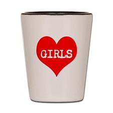 iLove Girls! Shot Glass