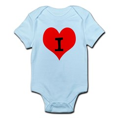 i Love Myself Infant Bodysuit