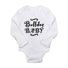 Bulldog BABY Long Sleeve Infant Bodysuit