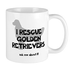 I RESCUE Golden Retrievers Mug