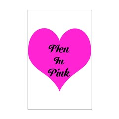 iHeart Men in Pink Posters
