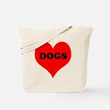 iLove Dogs Tote Bag