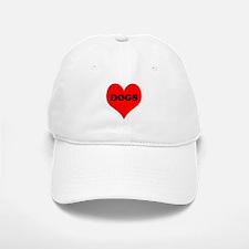 iLove Dogs Baseball Baseball Cap
