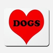 iLove Dogs Mousepad