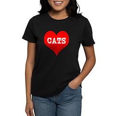 I Heart Cats Tee