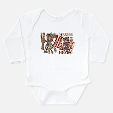 Mexico Long Sleeve Infant Bodysuit
