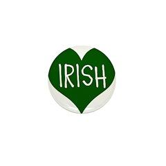 iHeart Irish St Patrick's Day Mini Button