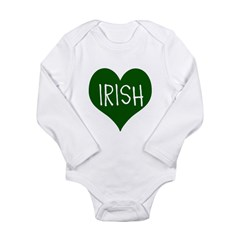iHeart Irish St Patrick's Day Long Sleeve Infant B