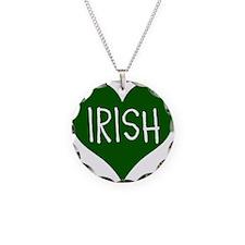 iHeart Irish St Patrick's Day Necklace