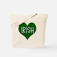 iHeart Irish St Patrick's Day Tote Bag