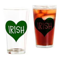 iHeart Irish St Patrick's Day Drinking Glass