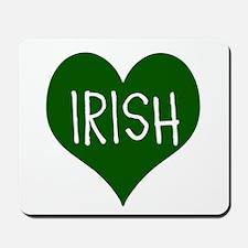 iHeart Irish St Patrick's Day Mousepad