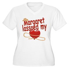 Margaret Lassoed My Heart T-Shirt