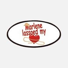 Marlene Lassoed My Heart Patches