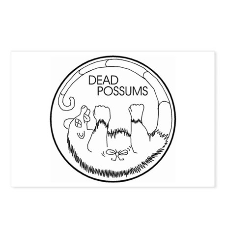 Dead Possums Postcards (Package of 8)
