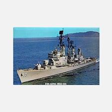 USS KING Rectangle Magnet