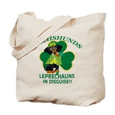 Dachshunds Are Leprechauns In Tote Bag