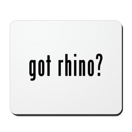 GOT RHINO Mousepad