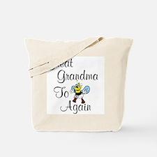 Great Grandma To Bee Again Tote Bag