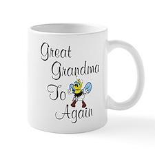 Great Grandma To Bee Again Mug
