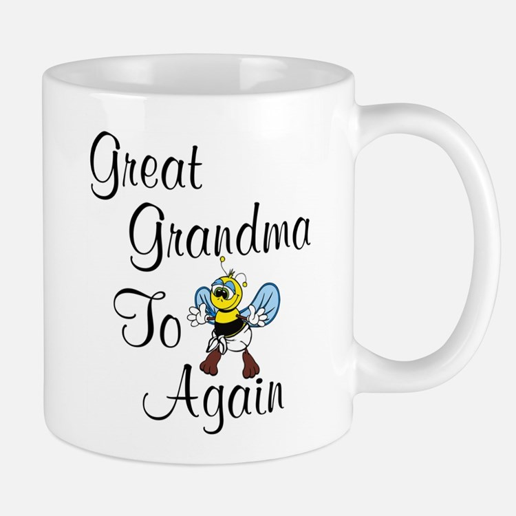 Great Grandma To Bee Again Mug