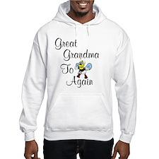 Great Grandma To Bee Again Hoodie