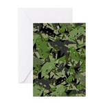 Tank Army Camouflage Greeting Card