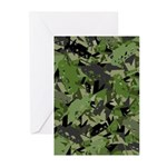 Tank Army Camouflage Greeting Cards (Pk of 10)
