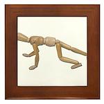 Runner Stance Framed Tile