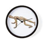 Runner Stance Wall Clock