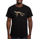Runner Stance Men's Fitted T-Shirt (dark)