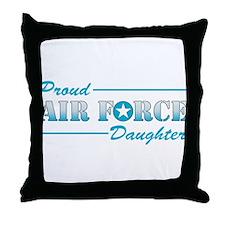 Proud Daughter Throw Pillow