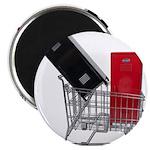 School Lockers in Shopping Ca Magnet