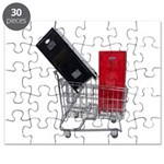 School Lockers in Shopping Ca Puzzle