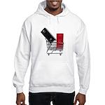 School Lockers in Shopping Ca Hooded Sweatshirt