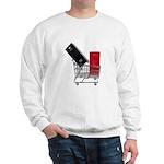 School Lockers in Shopping Ca Sweatshirt