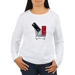 School Lockers in Shopping Ca Women's Long Sleeve