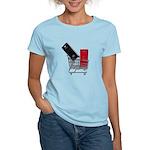 School Lockers in Shopping Ca Women's Light T-Shir