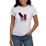 School Lockers in Shopping Ca Women's T-Shirt